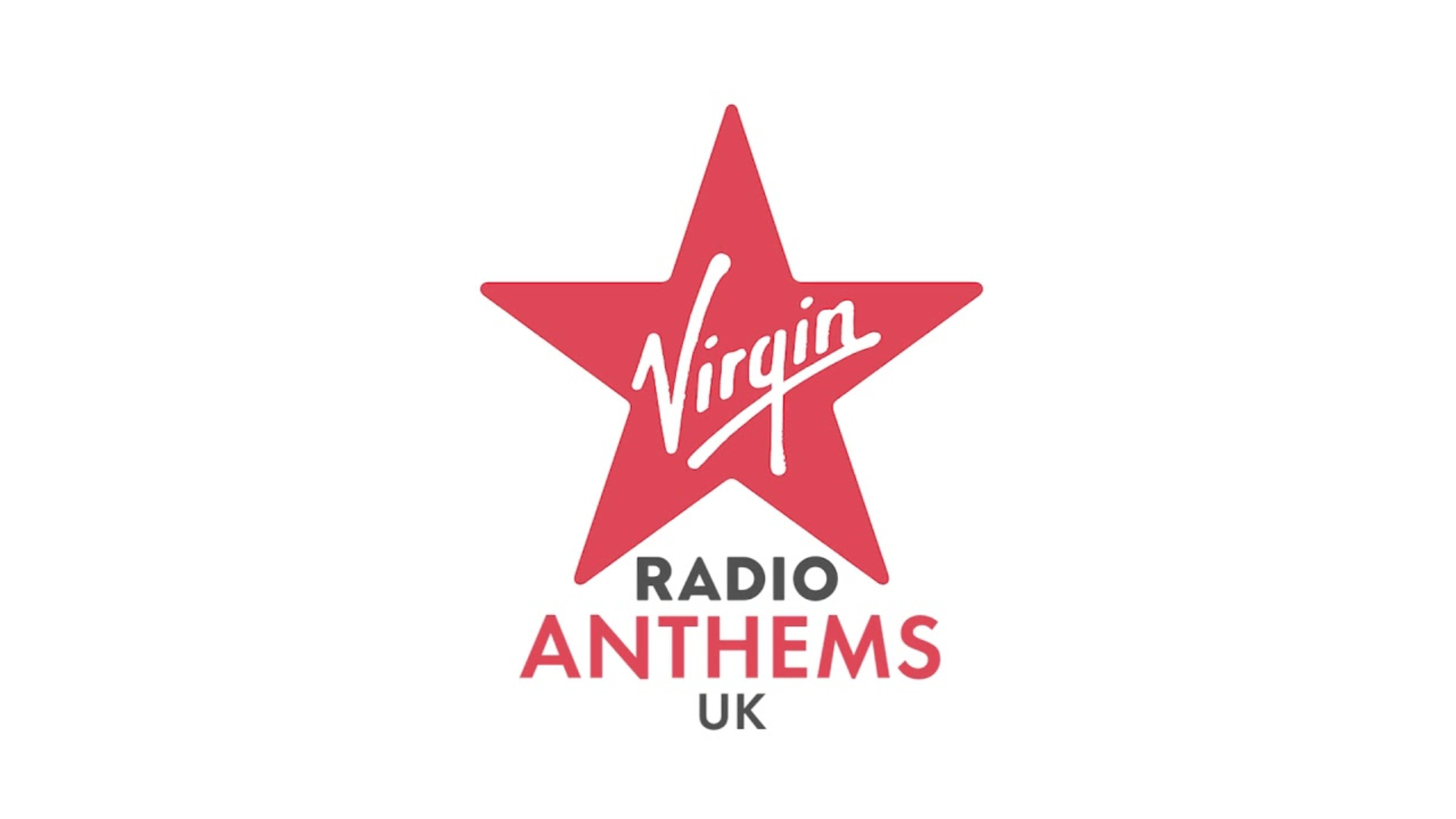 Virgin Radio Anthems UK logo