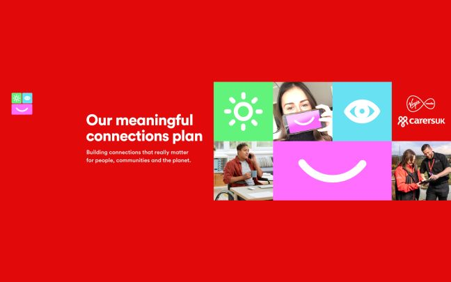 Virgin Media's Meaningful Connections Plan