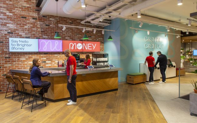 The Virgin Money Manchester store