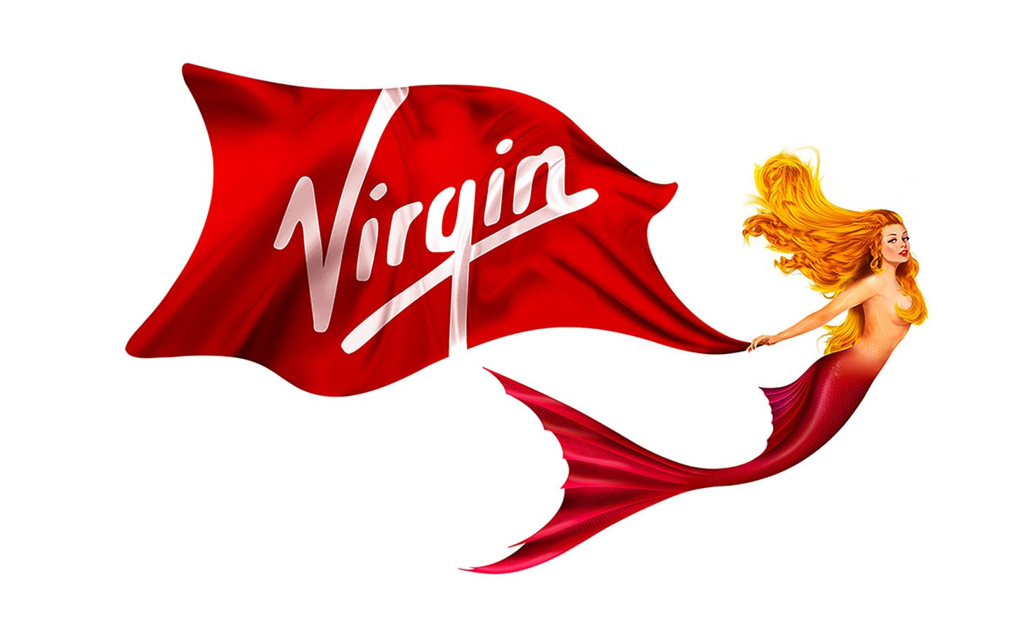 Virgin Voyages Scarlet Lady mermaid icon