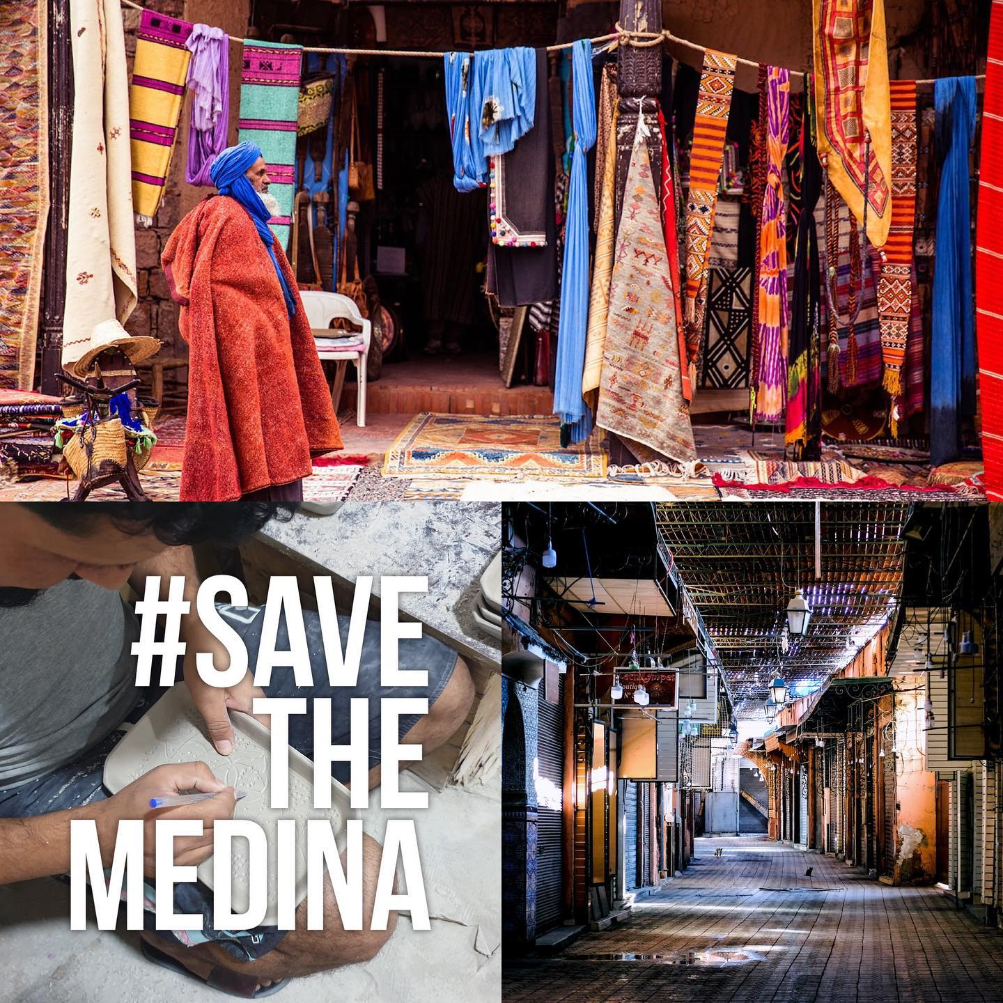 Image from @CharlieDailey and @Lailiazid / The Eve Branson Foundation #savethemedina