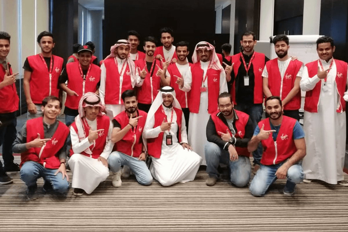 Virgin Mobile KSA team