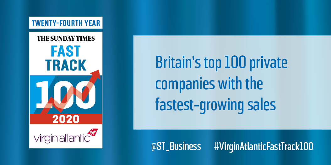 Sunday Times Virgin Atlantic Fast Track 100