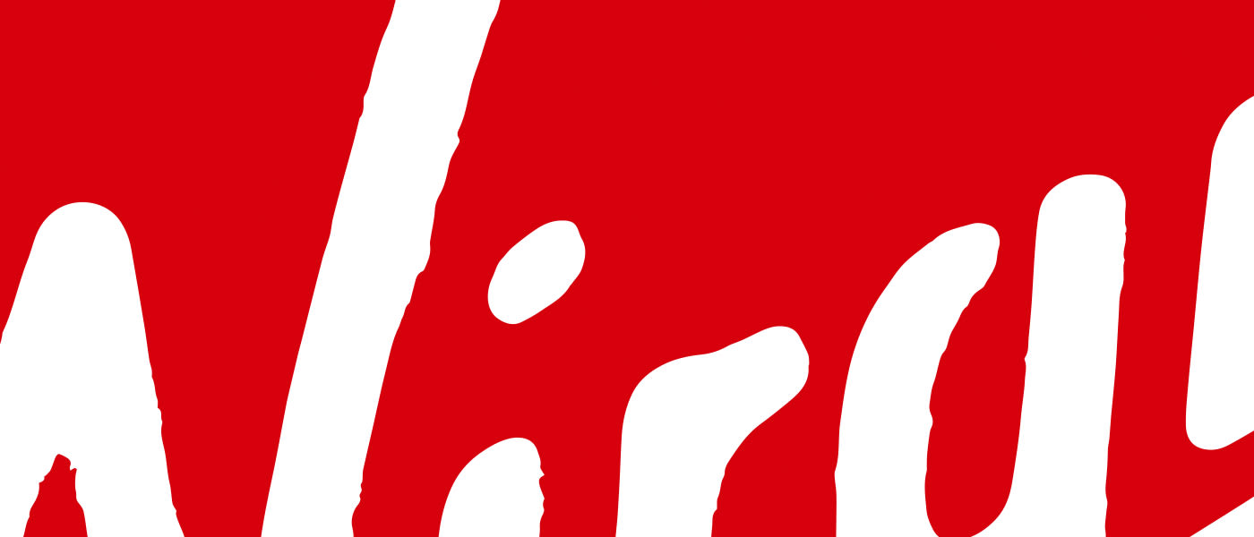 Part of the Virgin logo