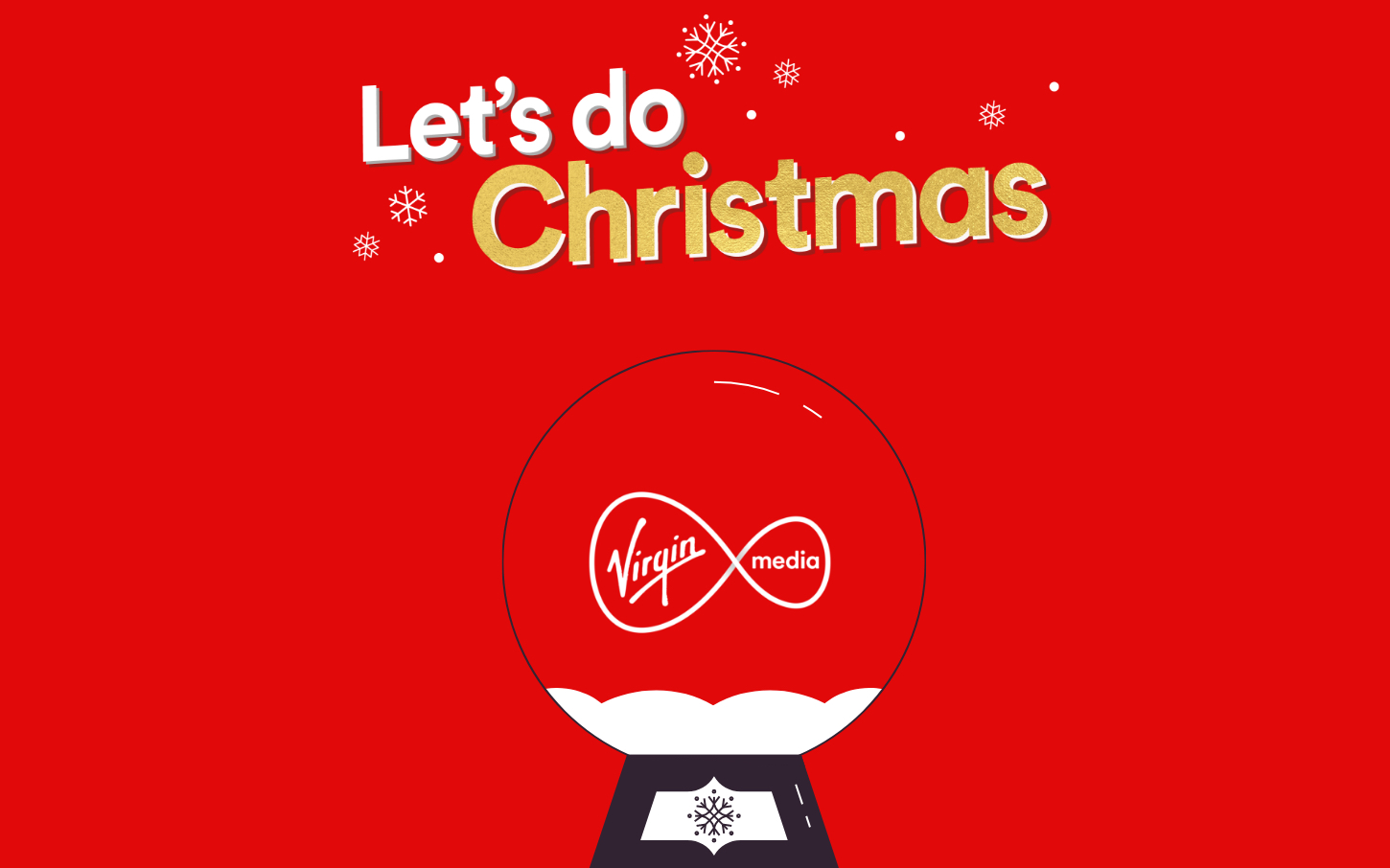 Virgin Media Let's do Christmas