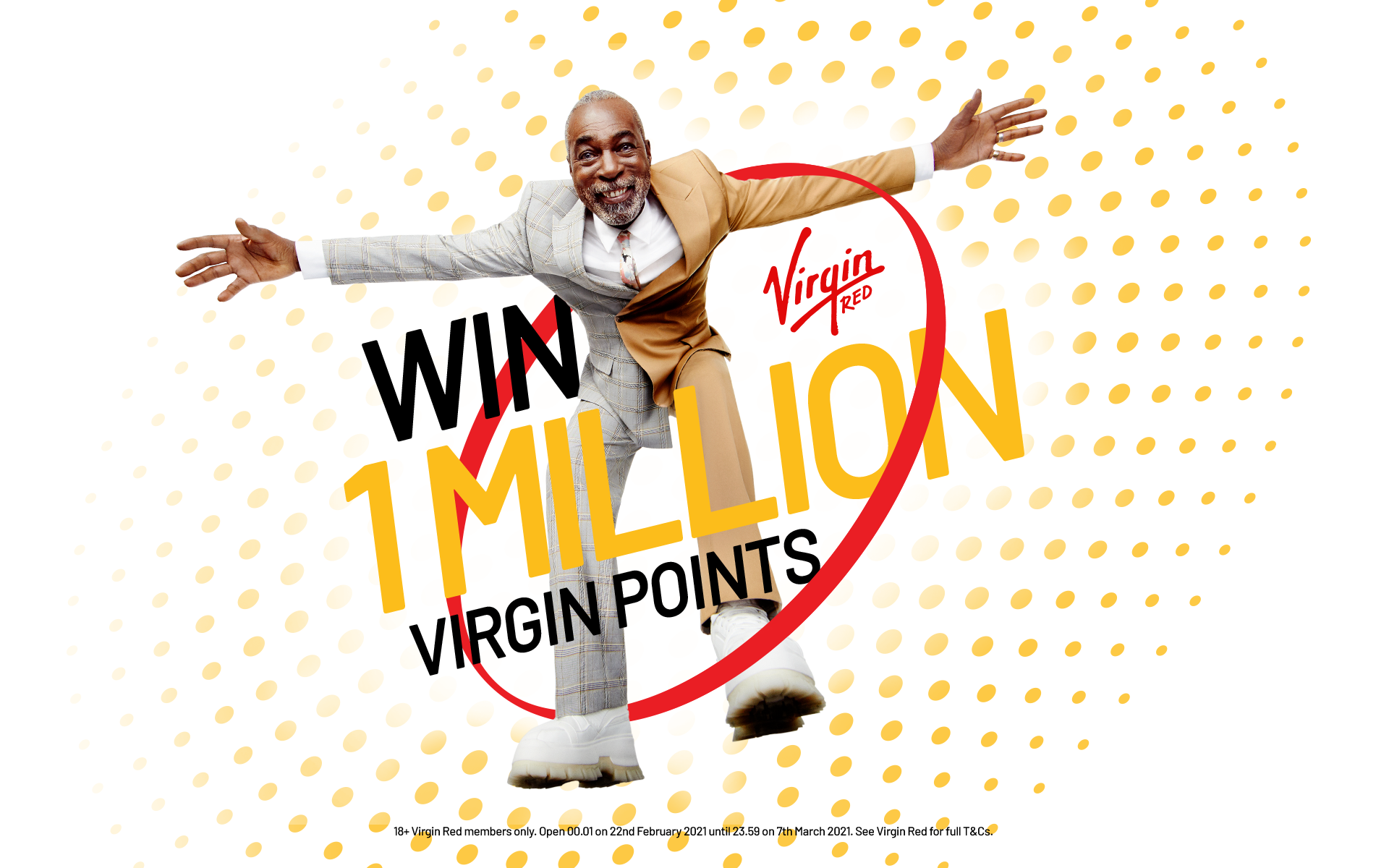 Win 1 Million Virgin Points
