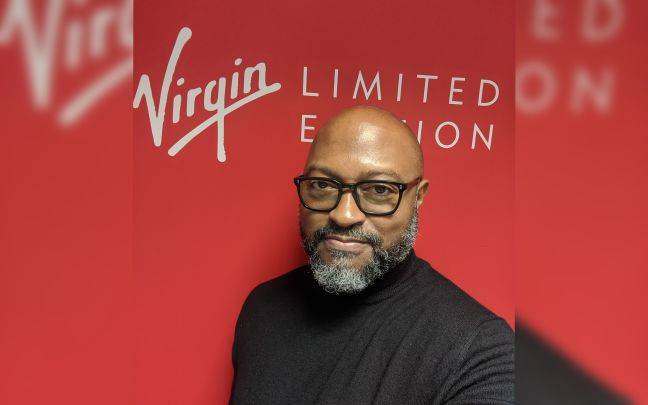 A picture of Chuks at Virgin Limited Edition