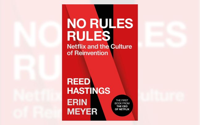 Cover art for No Rules Rules book