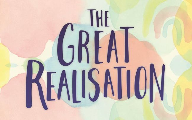 The Great Realisation poem by Tom Foolery