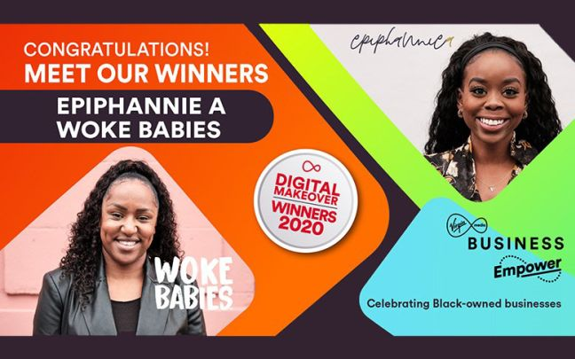 Winners of the Digital Makeover Ephiphannie A and Woke Babies
