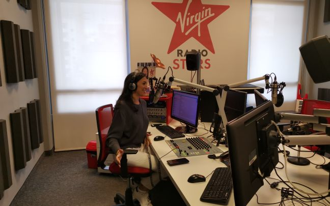 The Virgin Radio Lebanon studio