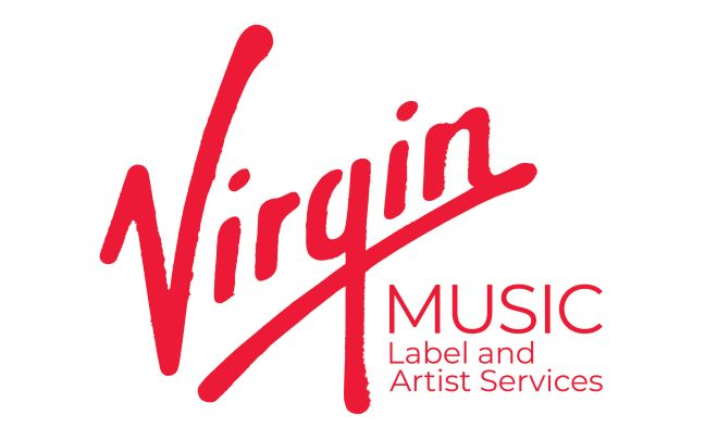 Virgin Music label and artist services logo