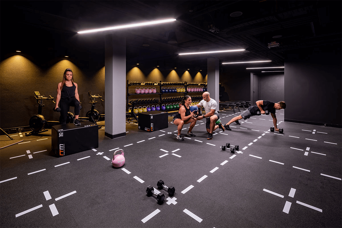 A fitness studio at Virgin Active Bondi Junction