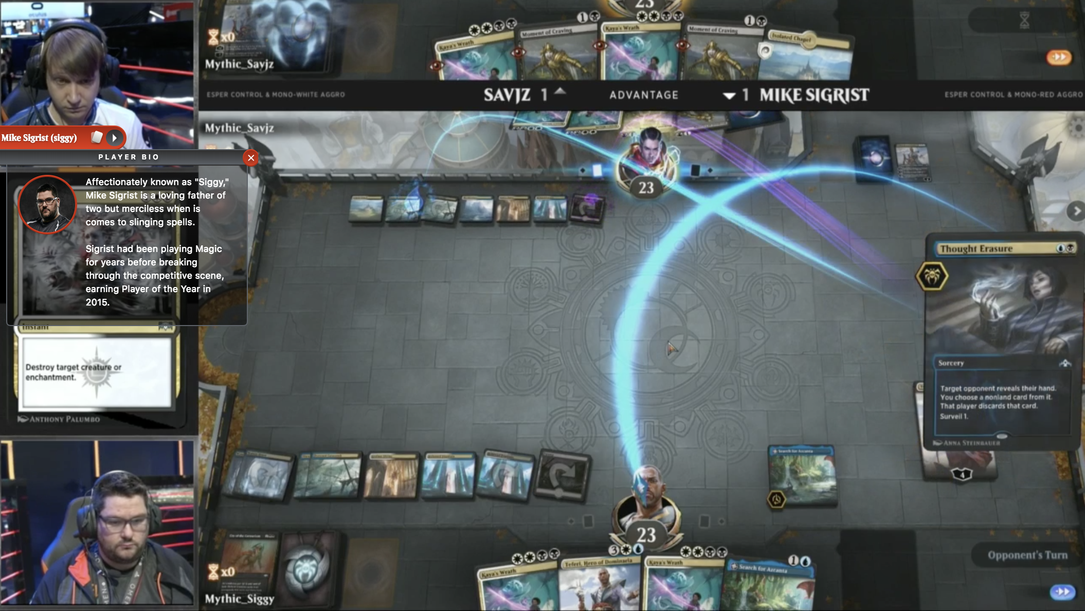 CardBoard Live Twitch Extension at the Mythic Invitational