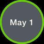 May 1