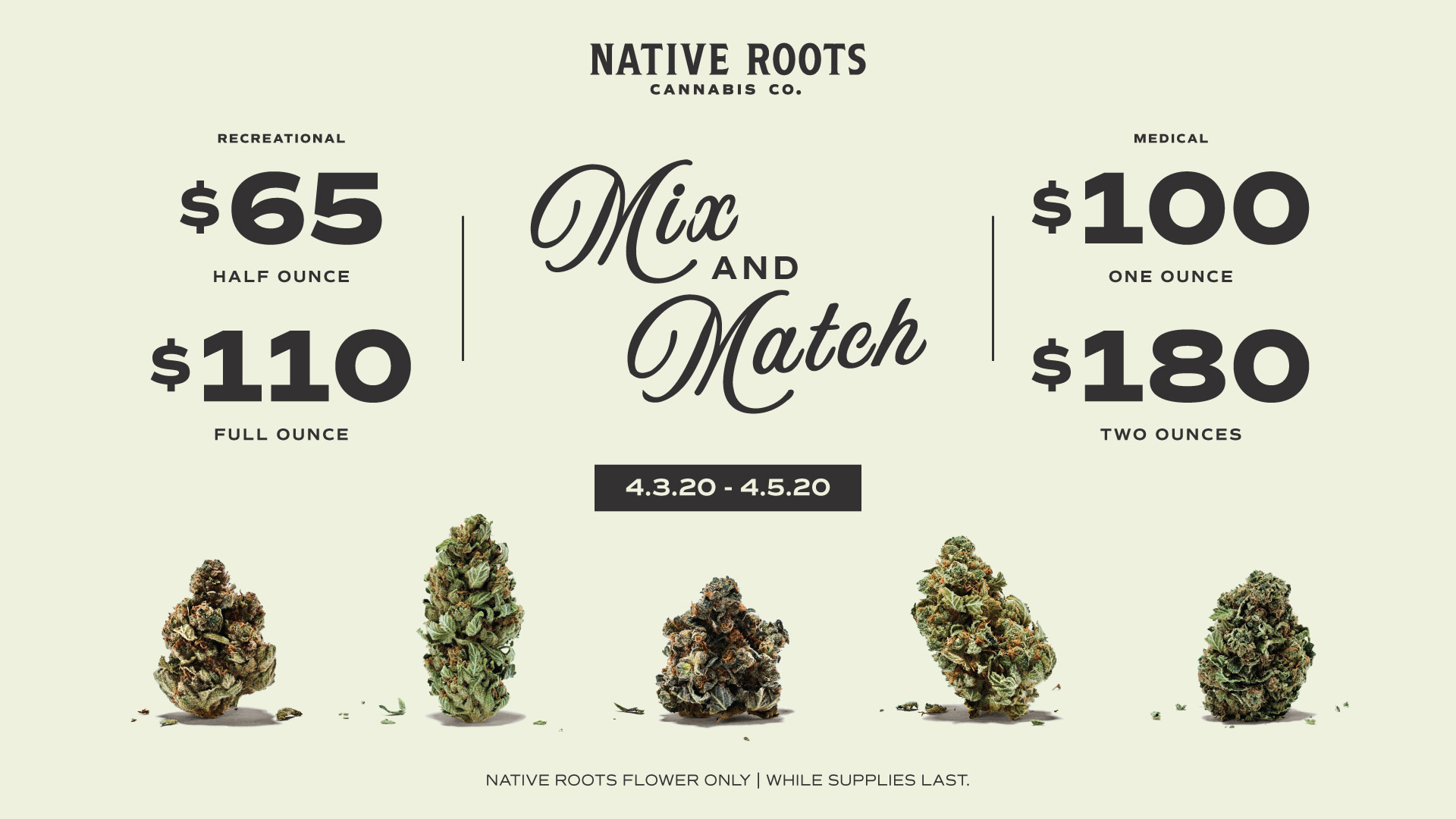 Mix & Match Deal from Native roots