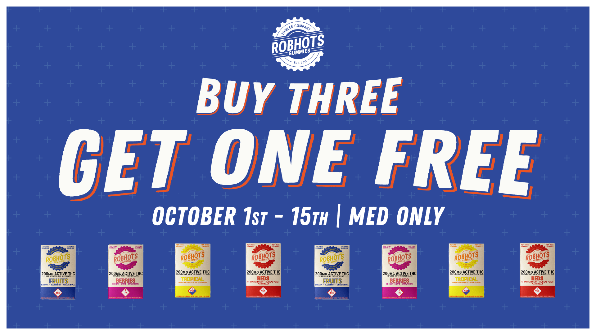 October Promo: Robhots