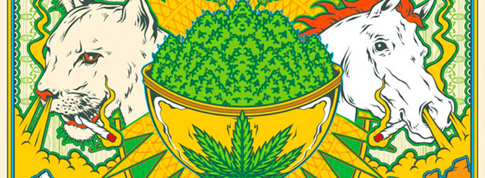 2015 High Times Graphic Pattern