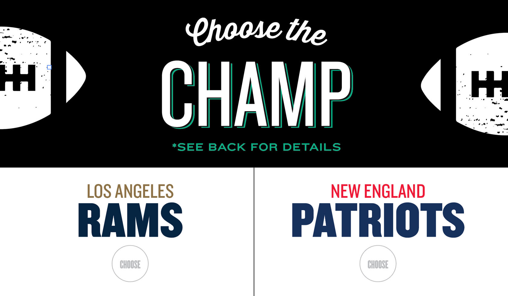 Native Roots asks you to guess which team will win the Superbowl, and get $10 Native Roots 1/8ths!