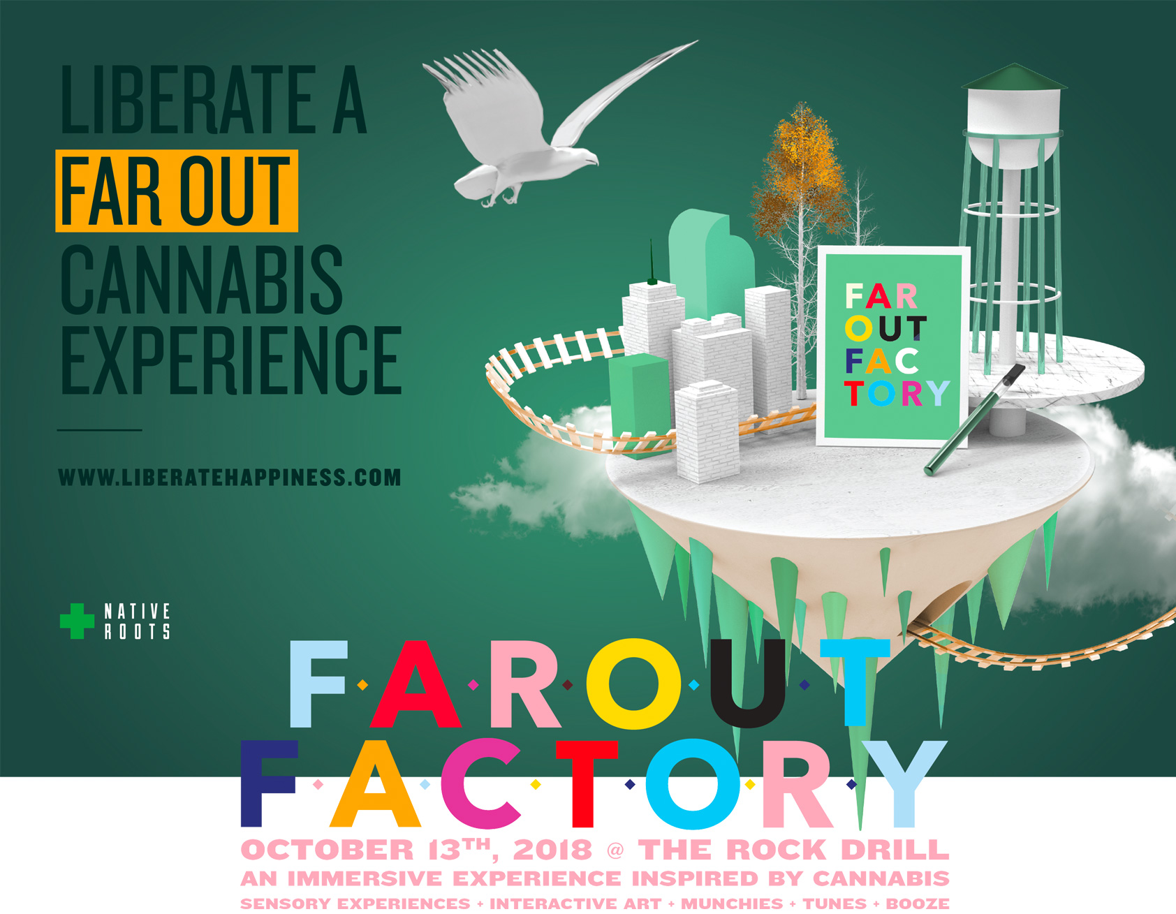 Win Tickets to Far Out Factory from Native Roots