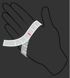 Gloves fit