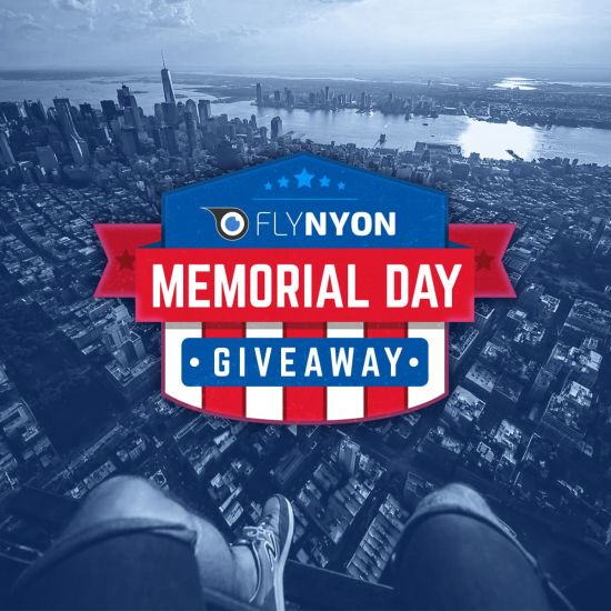 #FlyNYONUSA Memorial Day Giveaway!