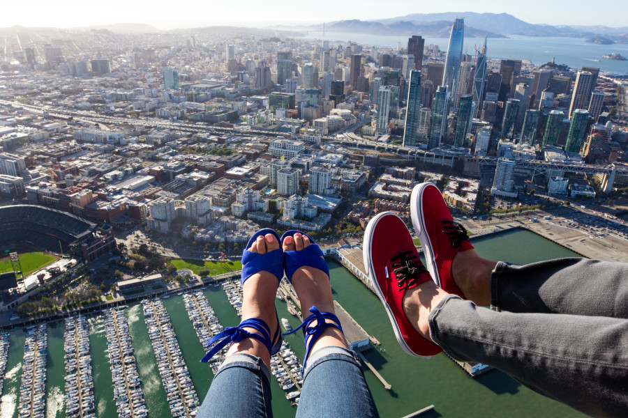 Shoe Selfie San Francisco