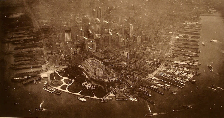 Aerial Photo of New York City