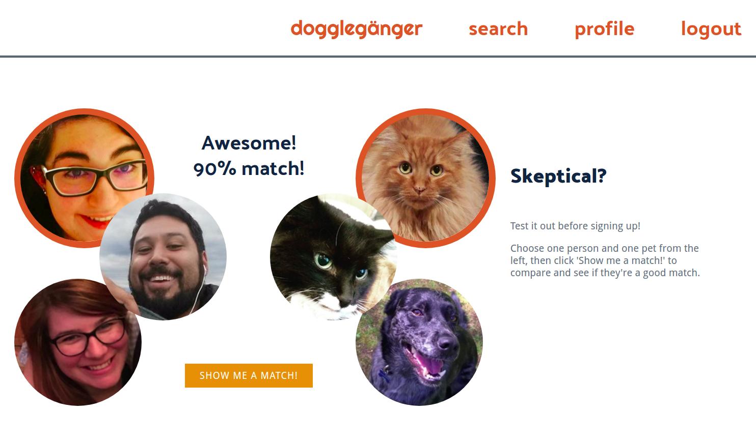 Doggleganger screenshot