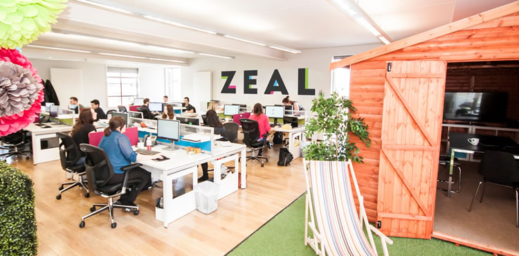 Moving Forward with Zeal!