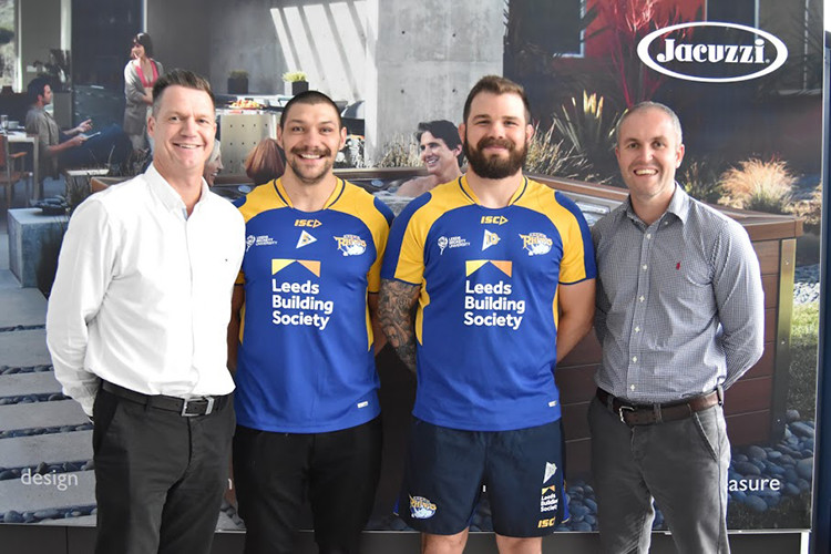 Leeds Rhinos announce Jacuzzi as new club sponsor - Article 1