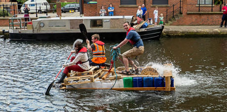 The Junk Boat Building Challenge