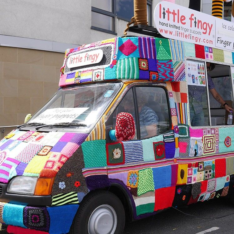 Knitted Ice Cream Van - Article