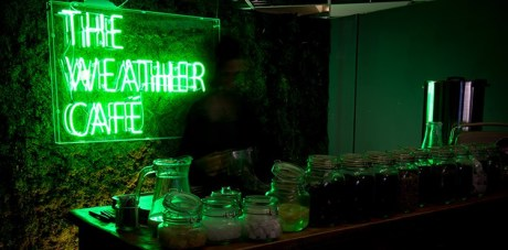 The Weather Cafe: Experience the elements