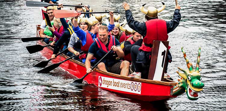 Leeds Waterfront Dragonboat Race Teams