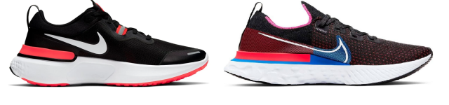 Nike React Miler vs. Nike Epic React Infinity Run