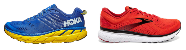 Hoka One One Clifton vs. Brooks Glycerin