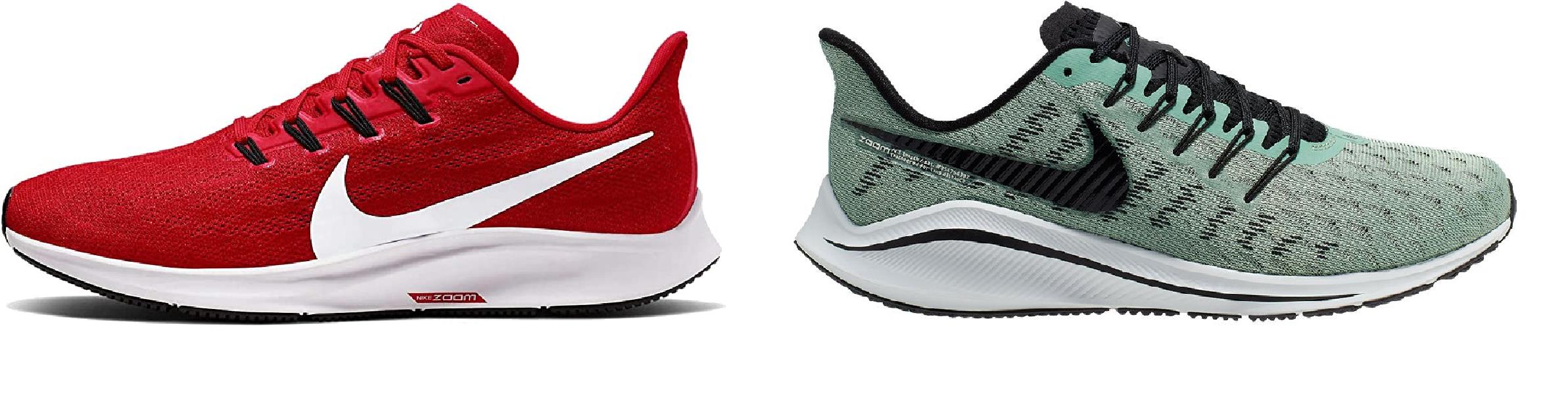 Nike Pegasus vs. Nike Vomero