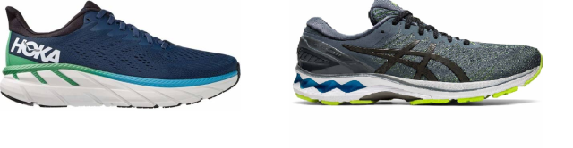 Hoka One One Clifton vs. Asics Gel Kayano