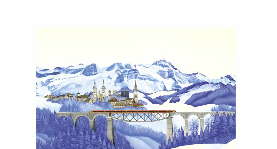 Fotoleinwand St. Gallen ohne Logo