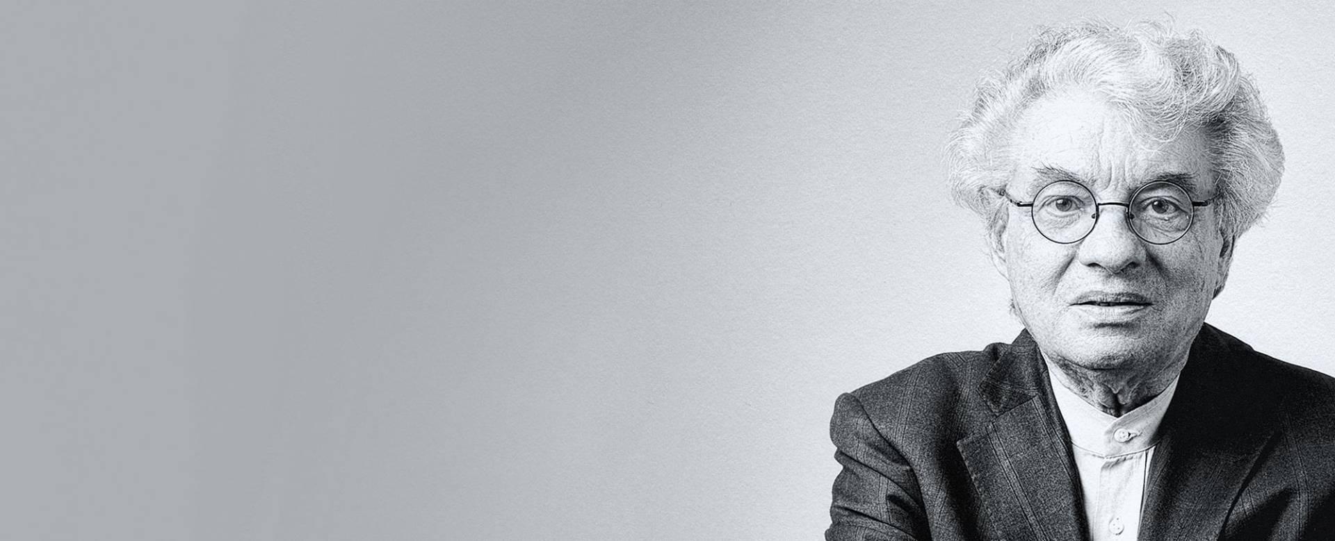 Der Architekt Mario Botta aus Mendrisio