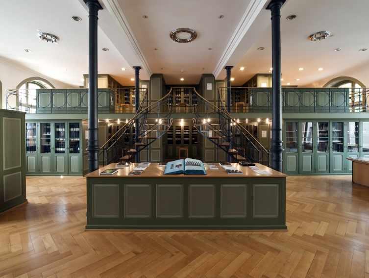 Innenansicht Textilmuseum