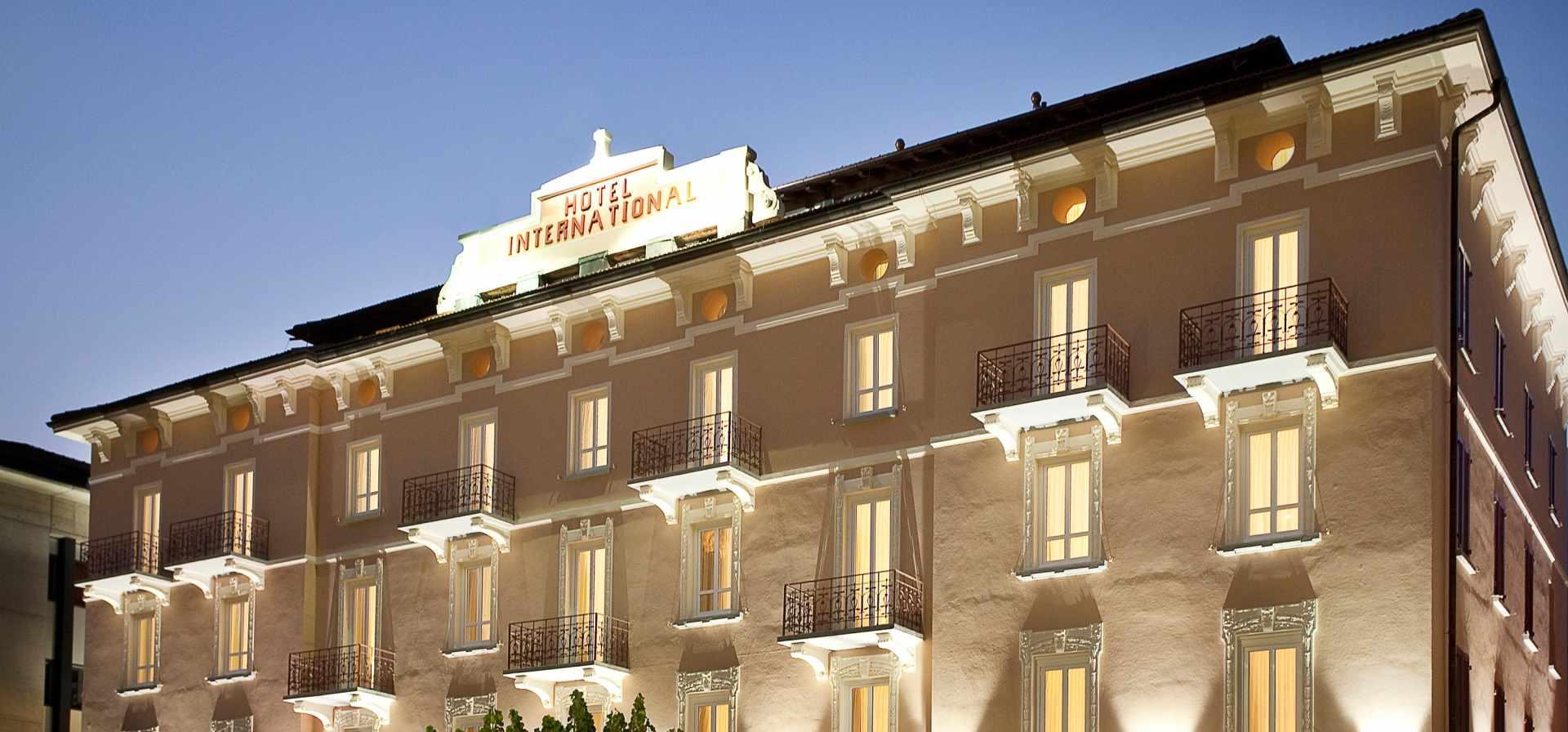 Hotel & SPA Internazionale in Bellinzona