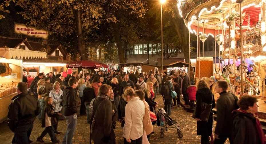 Basler Herbstmesse Petersplatz Autumn Fair Basel