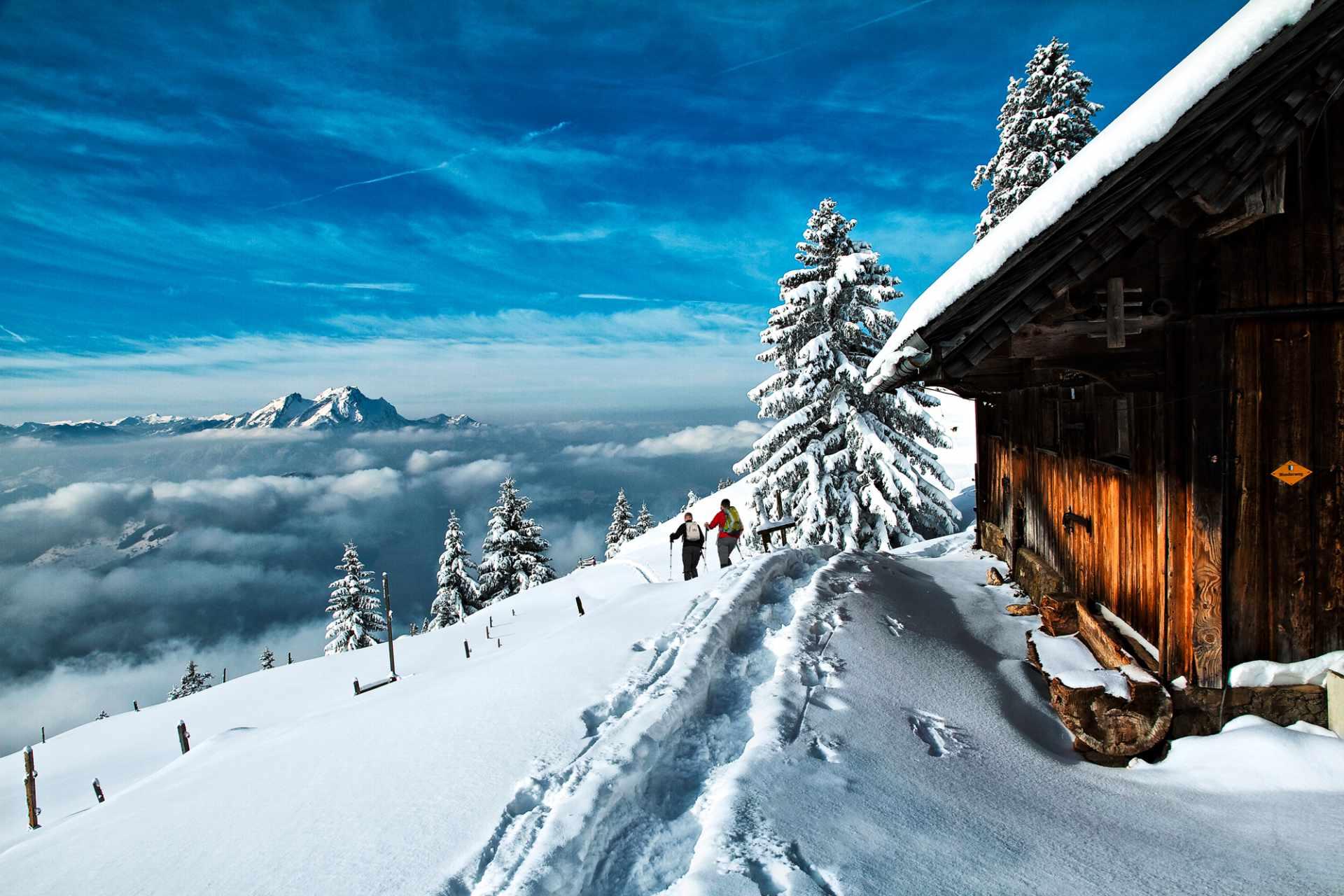Winterwanderung auf der Rigi