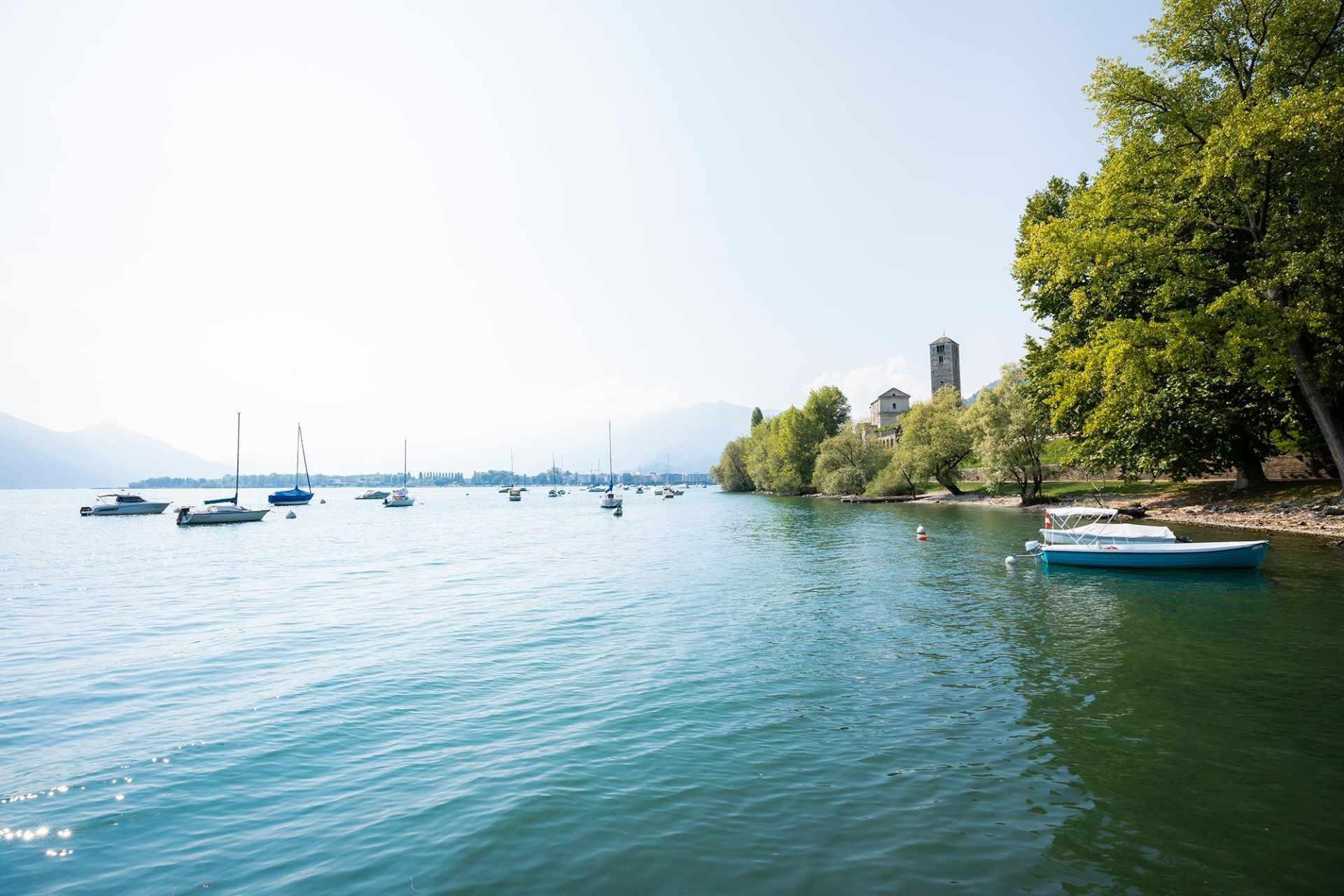 Frühling am Lago Maggiore in Ascona