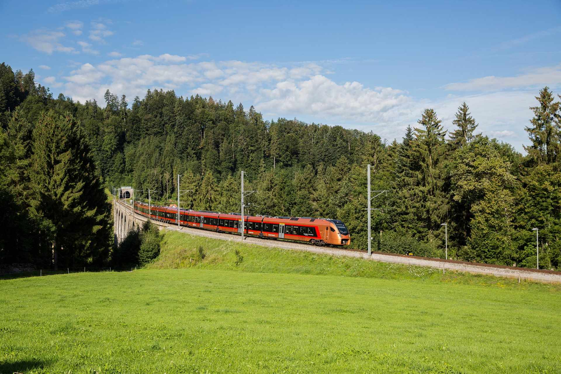 Voralpen-Express in Degersheim