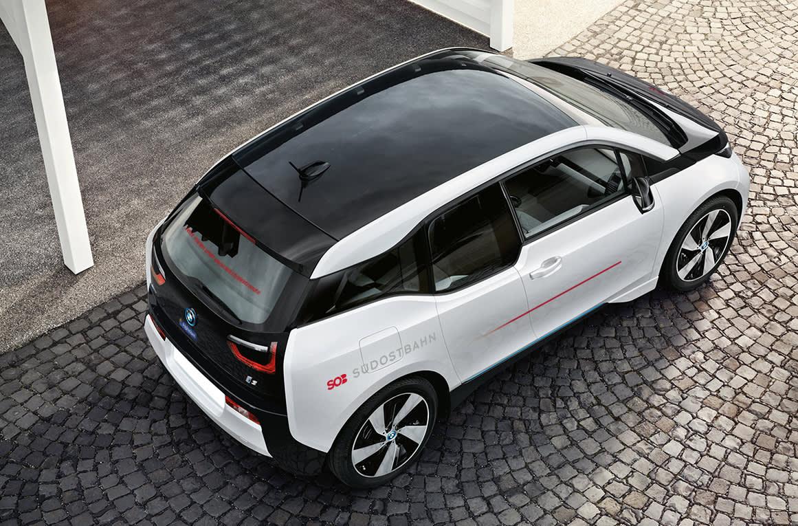 Elektroauto BMW i3 der SOB