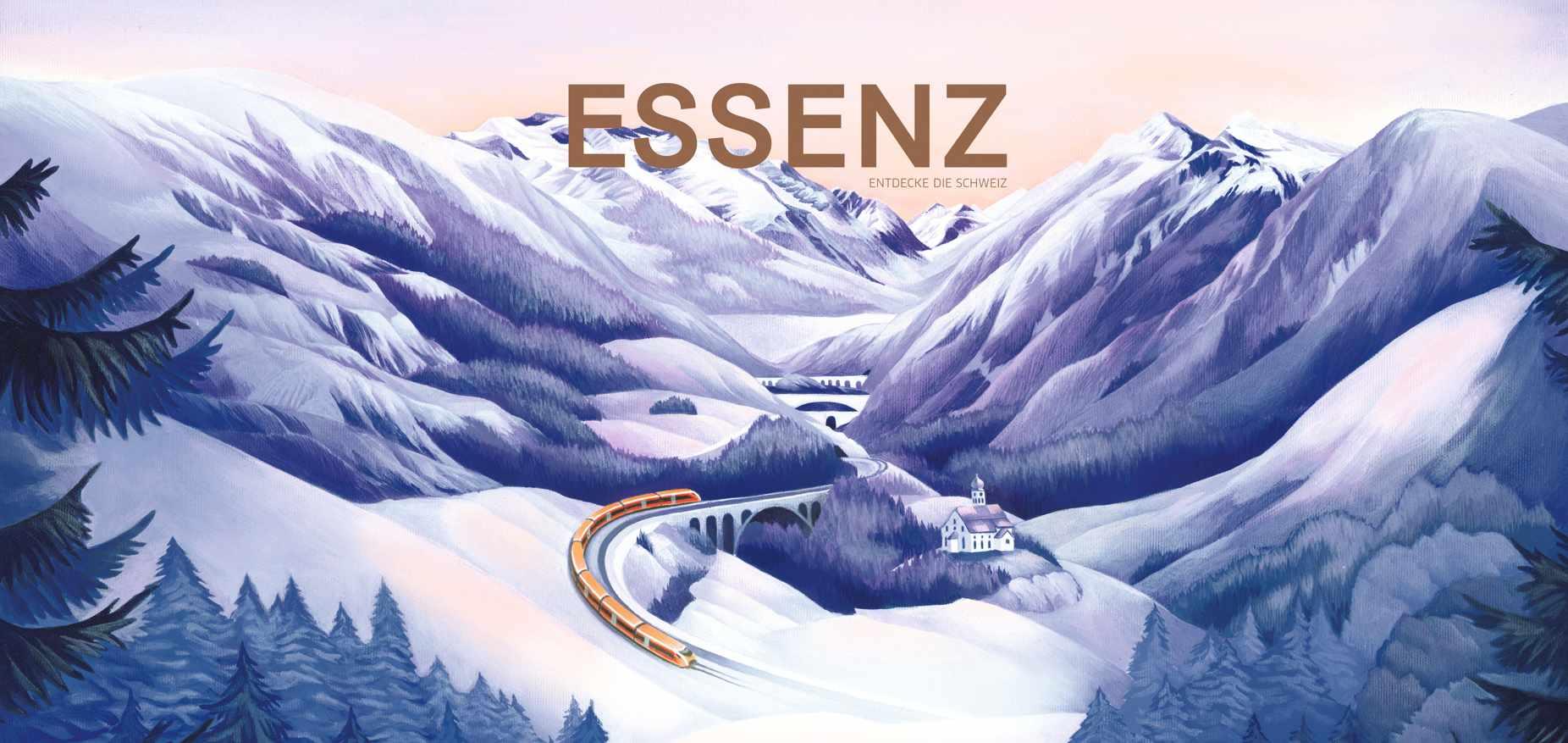 Treno Gottardo Essenz Coverbild