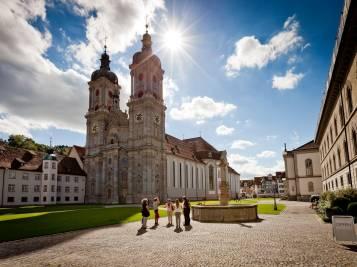 Stiftsbezirk in St. Gallen